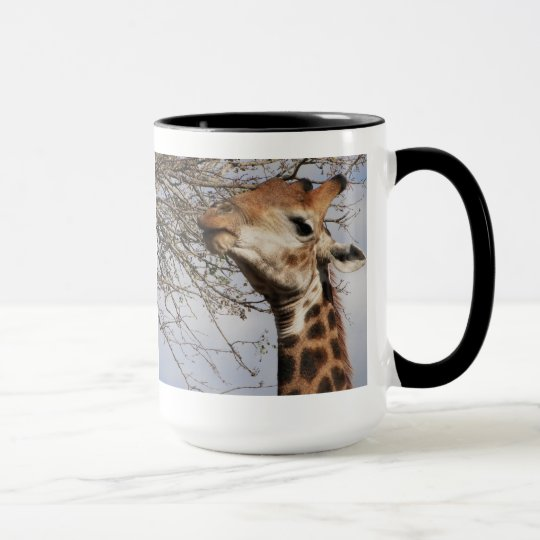 "Giraffe Mug- ""Say What?"" Mug"