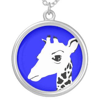 giraffe custom necklace
