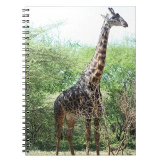 Giraffe Notebook
