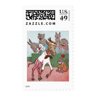Giraffe Occasions Merriment in Animals Postage
