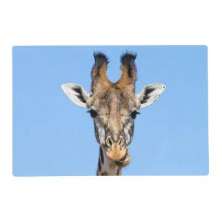 Giraffe Laminated Placemat