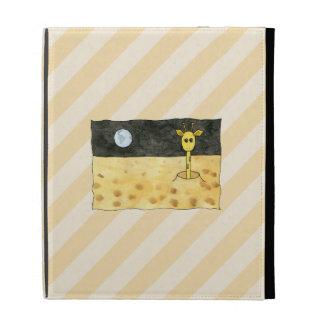 Giraffe on the Moon. iPad Folio Case