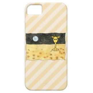 Giraffe on the Moon. iPhone SE/5/5s Case