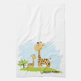 Giraffe Organic Planet Kitchen & Bath Towels