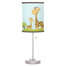 Giraffe Organic Planet Table Lamp
