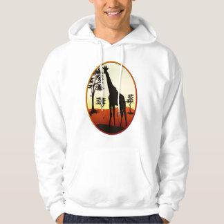 Giraffe Oval Shirts