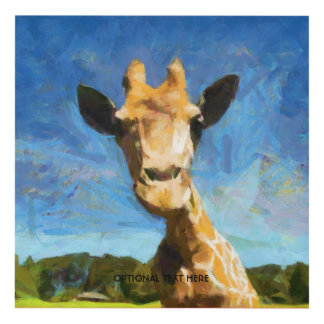 Giraffe Panel Wall Art