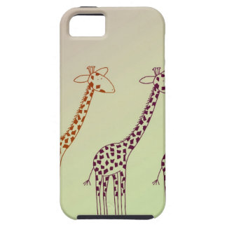 Giraffe Parade iPhone SE/5/5s Case
