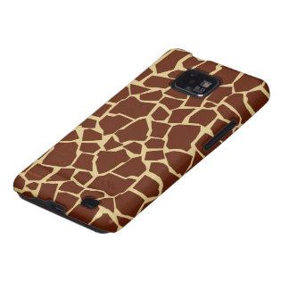 Giraffe Pattern Animal Print Fun Cover Case Skin Galaxy SII Case