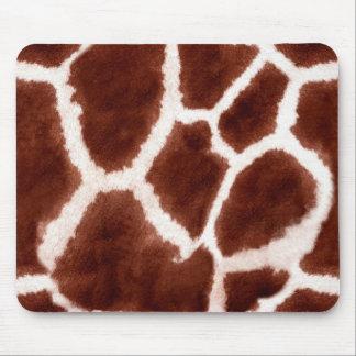 Giraffe Pattern Animal Print Mouse Pad