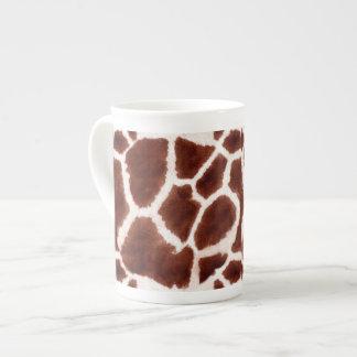 Giraffe Pattern Animal Print Tea Cup