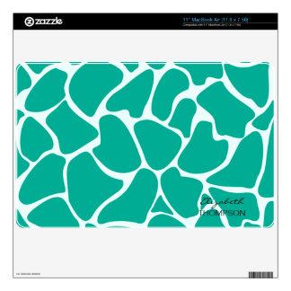 Giraffe Pattern Cherry Mac Book Air Skin Decal For MacBook Air