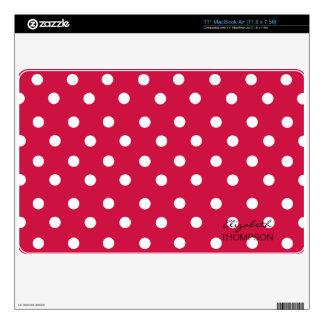Giraffe Pattern Cherry Mac Book Air Skin Skins For MacBook Air