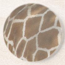 Giraffe Pattern Coasters