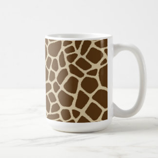Giraffe Pattern Coffee Mug