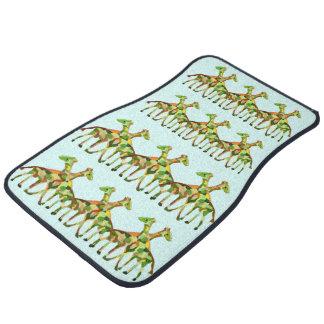 Giraffe Pattern Floor Mat