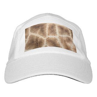 Giraffe pattern headsweats hat