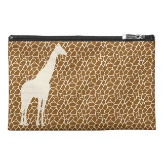 Giraffe Pattern (in creme / cream) Travel Accessories Bags