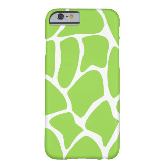 Giraffe Pattern in Lime Green. Barely There iPhone 6 Case