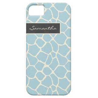 Giraffe Pattern iPhone 5 Case-Mate Case (powder)
