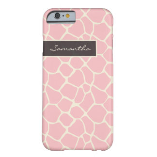 Giraffe Pattern iPhone 6 Case (pink)