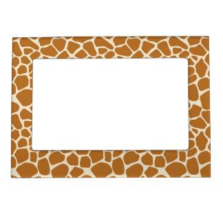 Giraffe Pattern Magnetic Photo Frame