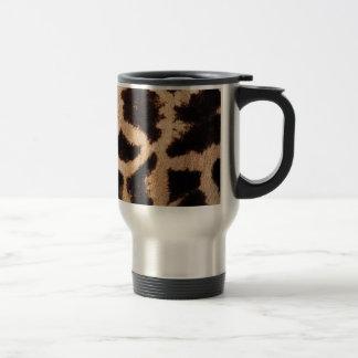 Giraffe pattern 15 oz stainless steel travel mug