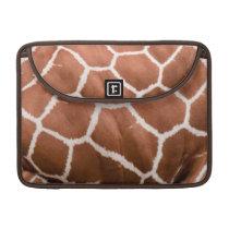 Giraffe pattern sleeve for MacBooks