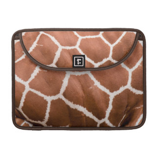 Giraffe pattern sleeve for MacBooks