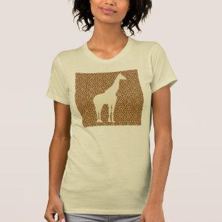 Giraffe Pattern T-Shirt