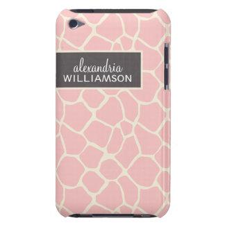 Giraffe Pern (baby pink) iPod Touch Case