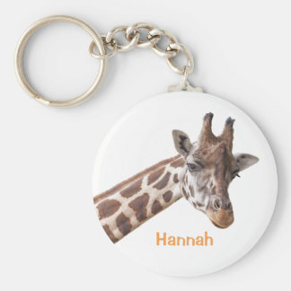 Giraffe - Personalized Name Keychain