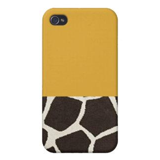 giraffe phone iPhone 4 cases