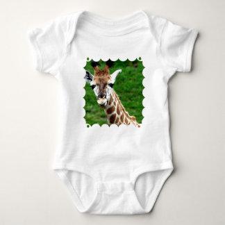 Giraffe Photo Baby T-Shirt