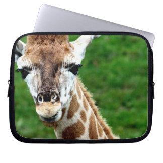 Giraffe Photo Electronics Bag Laptop Sleeve