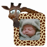 Giraffe Photo Frame Cut Out