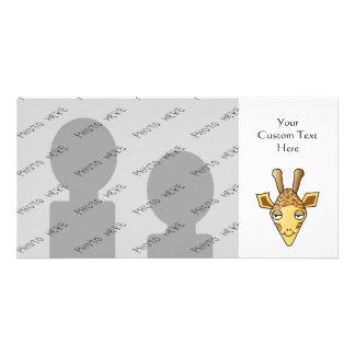 Giraffe Photo Card Template