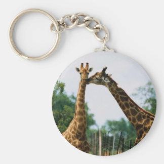 Giraffe Photograph Keychain