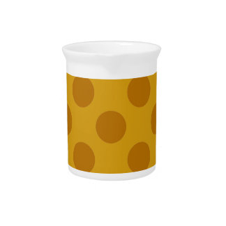 Giraffe Polkadots Beverage Pitcher