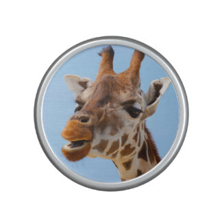 Giraffe Portrait bluetooth speaker