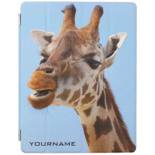 Giraffe Portrait Custom Device Covers at Zazzle