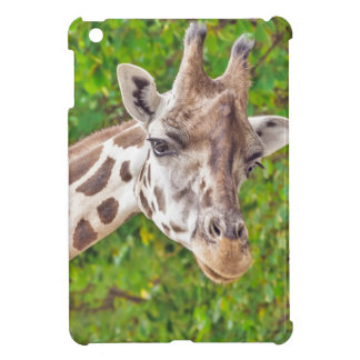 Giraffe Portrait - iPad Mini Case