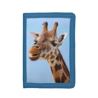 Giraffe Portrait wallets