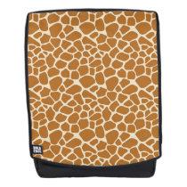 Giraffe Print Boldface Backpack