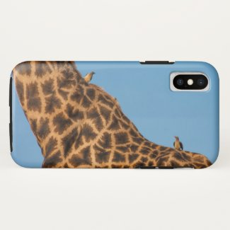 Giraffe Print iPhone X Case