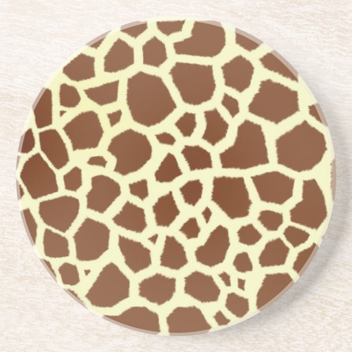 Giraffe Print Coaster