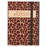 Giraffe Print Custom Tablet Case iPad Covers