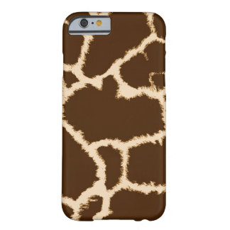 Giraffe Print Design Barely There iPhone 6 Case