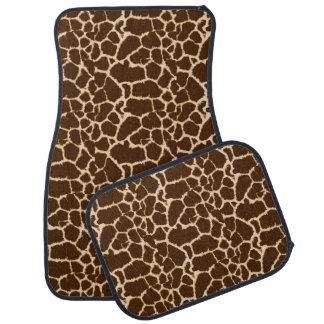 Giraffe Print Design Floor Mat