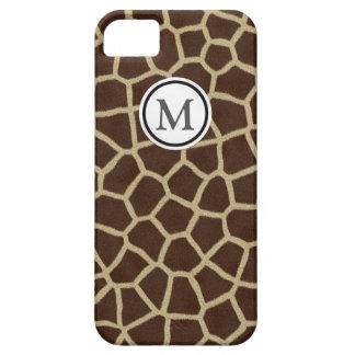 Giraffe Print iPhone SE/5/5s Case